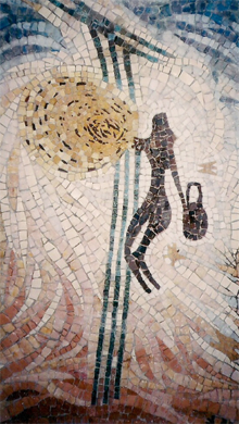 Honey collector, 2004