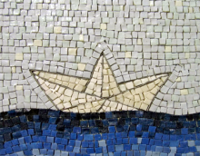 Small Ship (detail), 2008