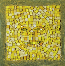 Small yellow visage, 1999